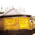Naturschiefer Pavillon