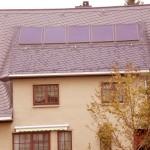 Naturschieferdeckung mit Solar
