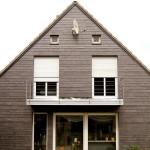 Wohnhaus Naturschiefer Fassade
