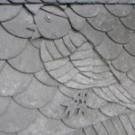 Vogelmotiv aus Schiefer